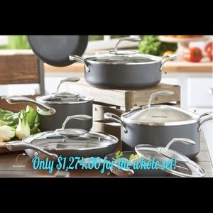 Tupperware Chef Series II Cookware 11pc set